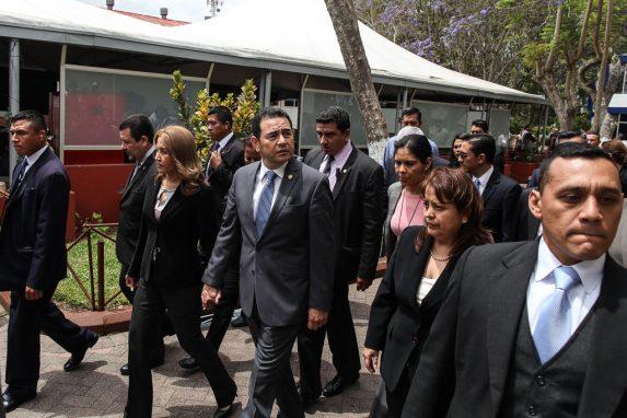 Jimmy Morales y Patricia Marroquín de Morales.