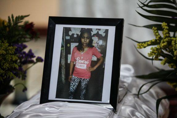 Mayra Chután, de 16 años y 1 semana.