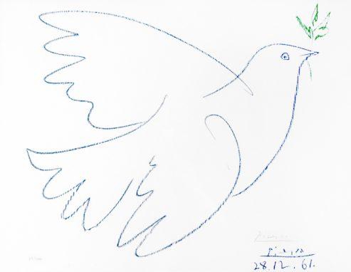 Paloma azul