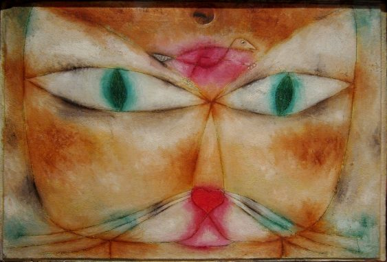 https://commons.wikimedia.org/wiki/File:NY_Moma_klee_cat_and_bird.JPG
