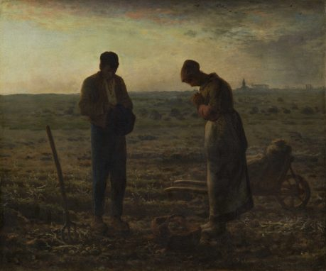 """El Angelus"" Jean-Francois Millet. 1859"