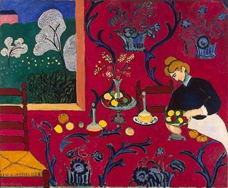 """""""Armonía en Rojo"""". Henri Matisse. 1908"""