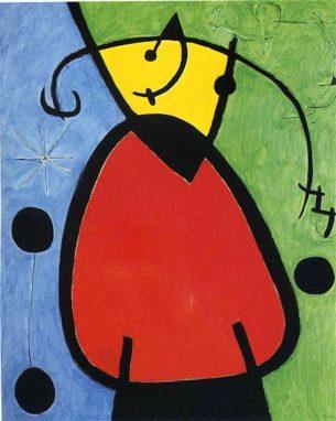 """I""""El Nacimiento del Día"""" Joan Miró. 1968"""