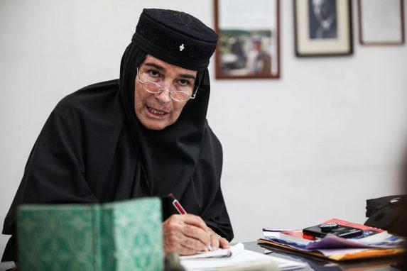 Inés Ayau se unió a la fe ortodoxa en 1986.