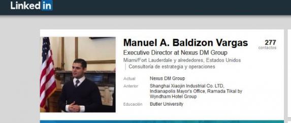 Manuel Baldizon Vargas Linkedin