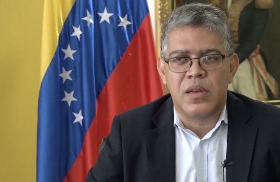 El Ministro de Educación Elías Jaua, hombre de confianza del expresidente Hugo Chávez (Foto: Reproducción/Agencia Pública)