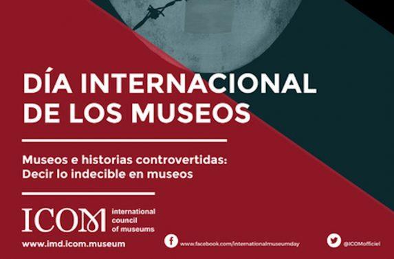 Vista parcial del Cartel oficial del Día Internacional de los Museos. ICOM. 2017.
