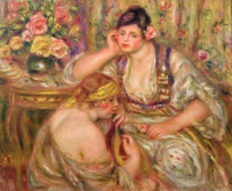 """""""El Concierto"""" Renoir. 1918"""