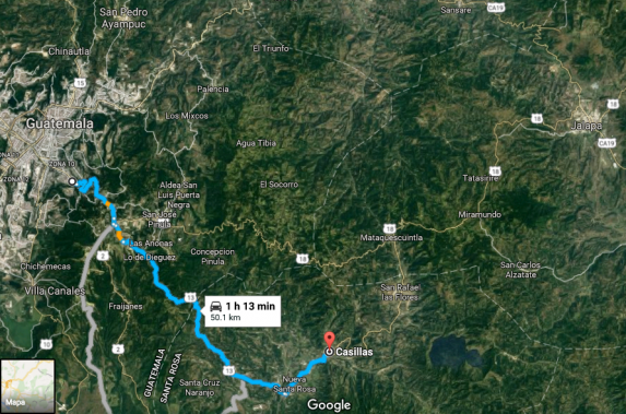 Casillas en Google Maps