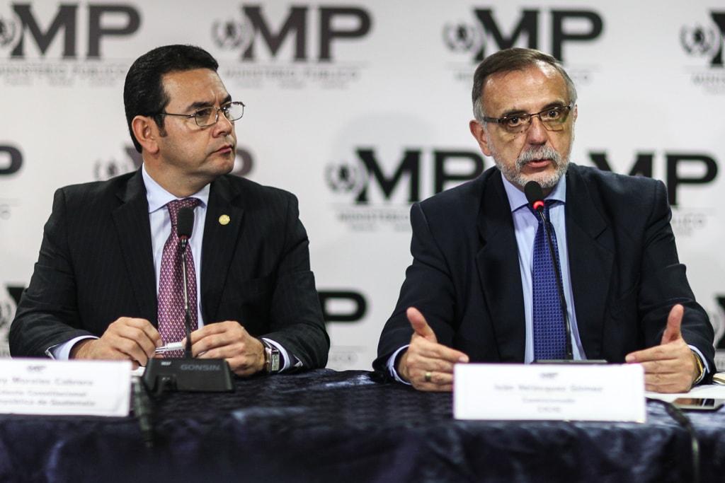 CICIG: Iván Velásquez desmiente acusaciones de Jimmy Morales - Nómada, Guatemala.