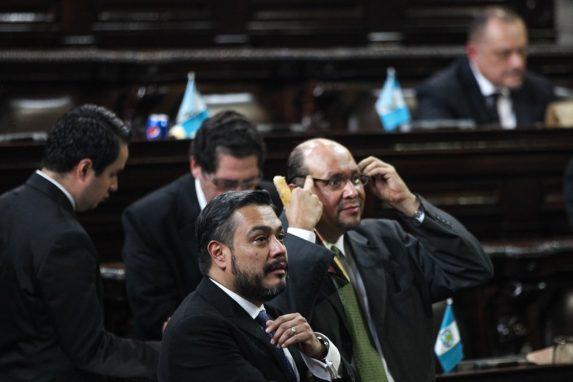 Javier Hernández (FCN) y Orlando Blanco (UNE) fueron dos de los cuatro diputados que promovieron las modificaciones al Código Penal de 2017, conocidas como el Pacto de Corruptos.