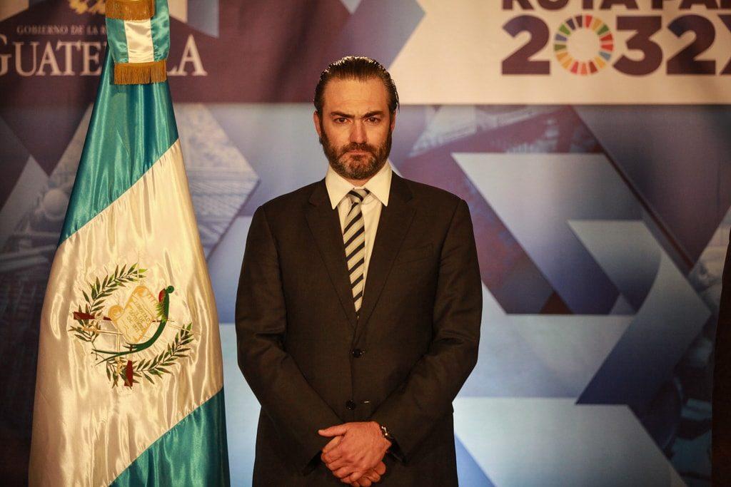El ministro Valladares Urruela.