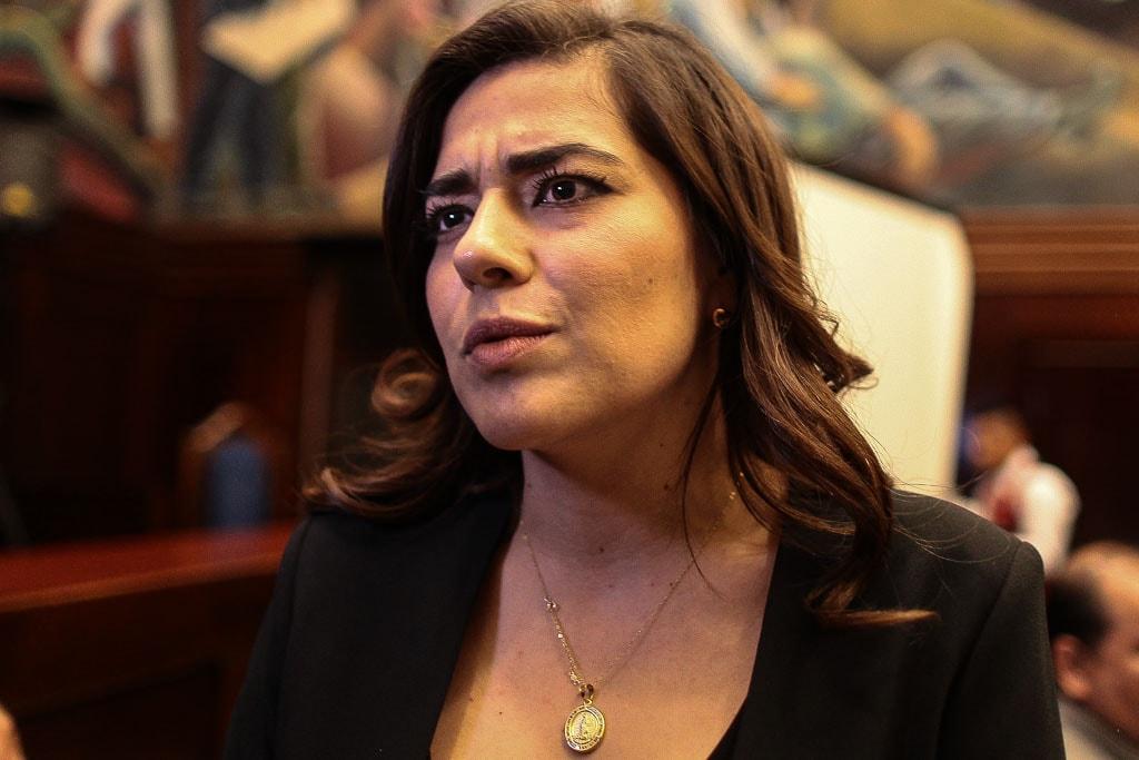 Patricia Sandoval, diputada de FCN.