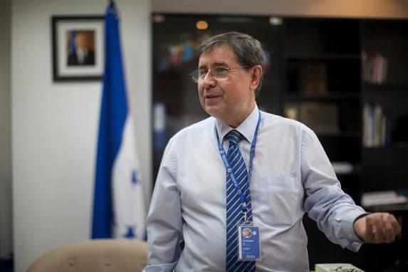 Luiz António Marrey, vocero de la MACCIH.