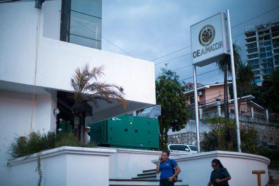 Sede de la MACCIH en Tegucipalga, Honduras.