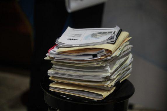 Estos son los documentos, según Porras, donde se comprueban las irregularidades en los ascensos.