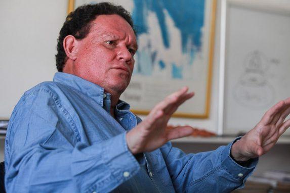 Fernando Sáenz, arquitecto y empresario, durante la entrevista con Nómada.