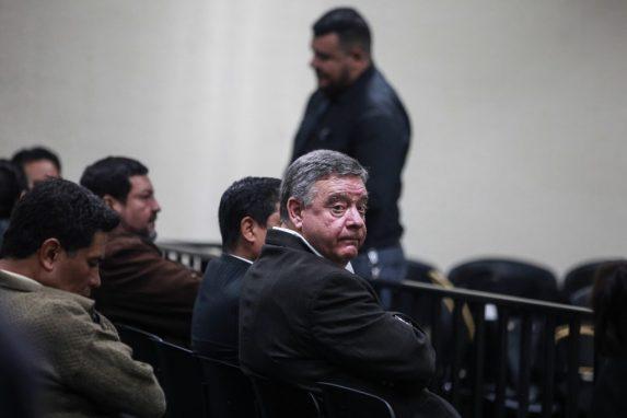 Hugo Rodolfo Roitman Braier fue de los que menos se movió durante el día. El empresario israelí fue sentenciado a 11 años por los delitos de asociación ilícita y fraude.