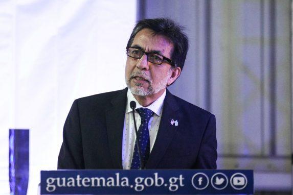 Luis Arreaga, the U.S. Ambassador in Guatemala.