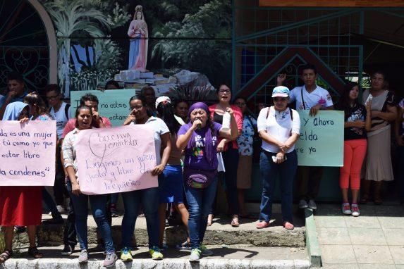El caso de Imelda a desatado varias protestas en El Salvador.