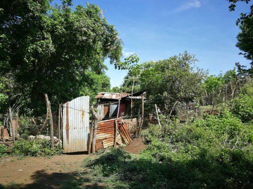 Esta es la casa donde vivía Imelda. En este lugar ocurrió el parto.