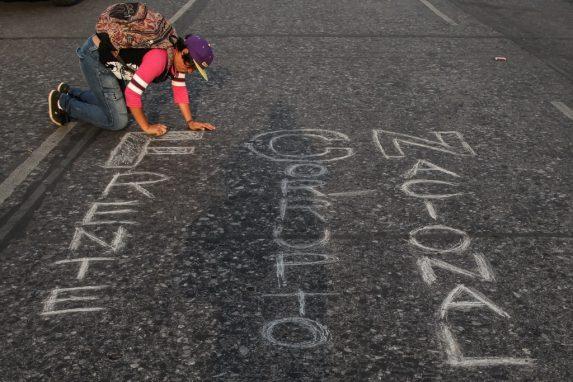 ABRIL. Luego de conocerse cómo se financió la campaña para que Jimmy Morales llegara al poder, las protestas ciudadanas se volvieron más recurrentes.