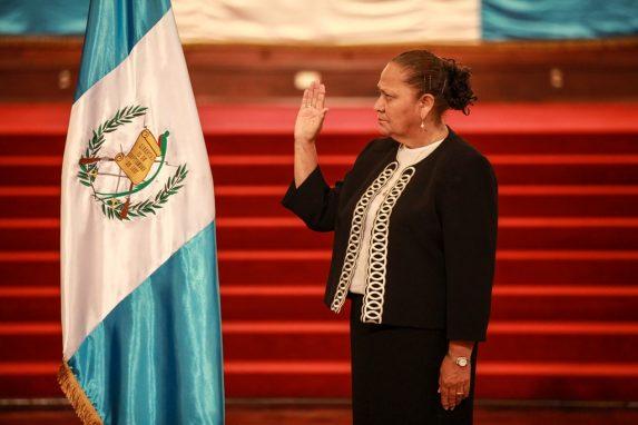 MAYO. María Consuelo Porras Argueta (Chimaltenango, 1953) fue nombrada por el presidente Jimmy Morales como la nueva fiscal General y jefa del Ministerio Público en sustitución de Thelma Aldana.