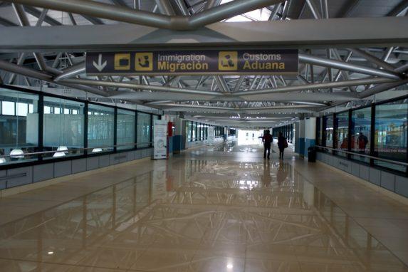 Aeropuerto La Aurora. Foto: Hugo Navarro