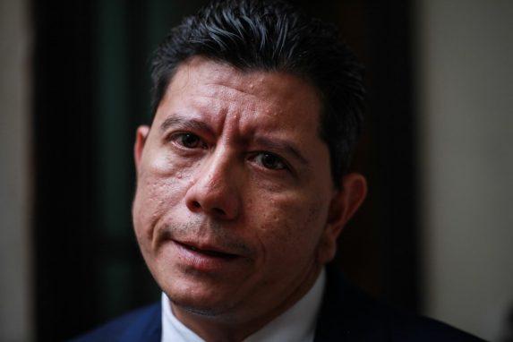 Juan Ramón Lau siempre ha tenido acceso directo a las autoridades del Organismo Judicial. Foto: Carlos Sebastián