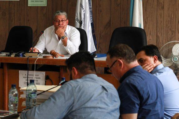 El juez Felicito Mazariegos está a cargo del juicio contra Lemuel Valle, la CGN y UVG.