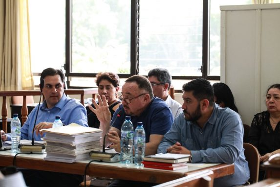 El MP, a través del fiscal Jorge García, acusa a Lemuel Valle de homicidio culposo.
