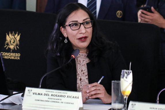 Vilma del Rosario Xicará.