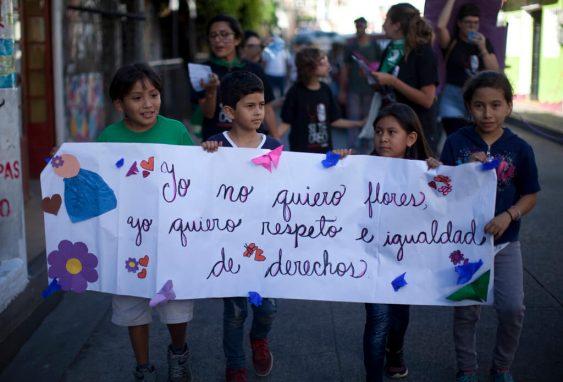 En las actividades se hizo conciencia sobre la importancia de los derechos para las mujeres desde la niñez.