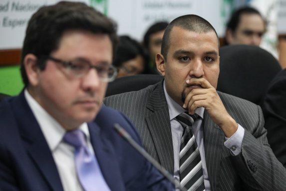 Julio Héctor Estrada y Juan Francisco Solórzano Foppa.