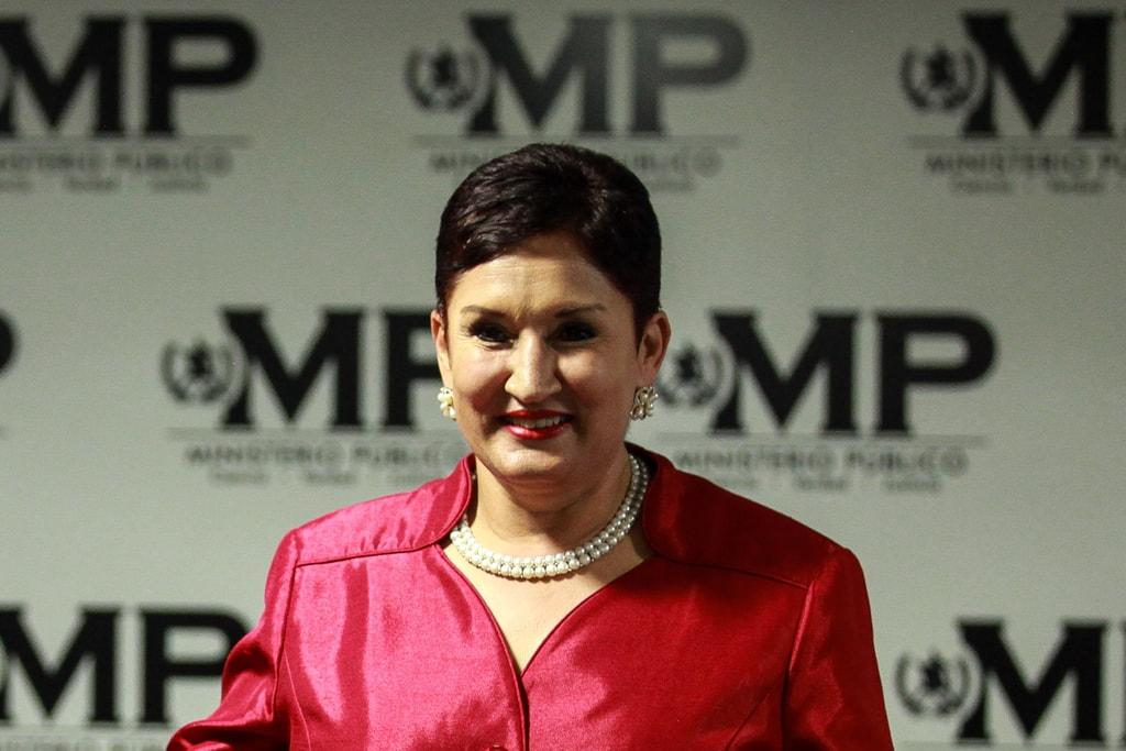 Thelma Aldana, en última conferencia de Prensa como fiscal general.
