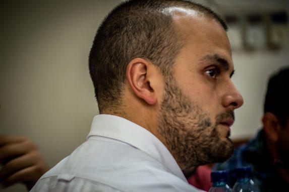 Luis Pedro Martínez es abogado de la Universidad del Valle de Guatemala. La casa de estudios fue demandada por los padres de los jóvenes. Foto: David Toro/Prensa Comunitaria