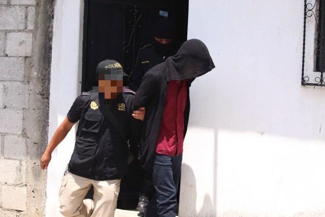 Pascual Argueta fue capturado en una vivienda de Villa Lobos, Villa Nueva.