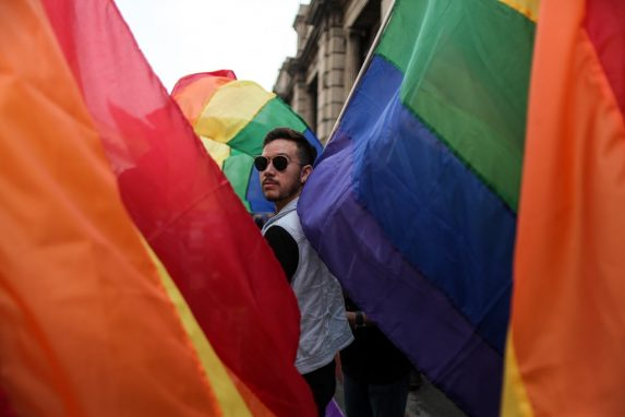 Organizaciones pro derechos LGBTIQ se oponen a la iniciativa 5272. Foto: Carlos Sebastián