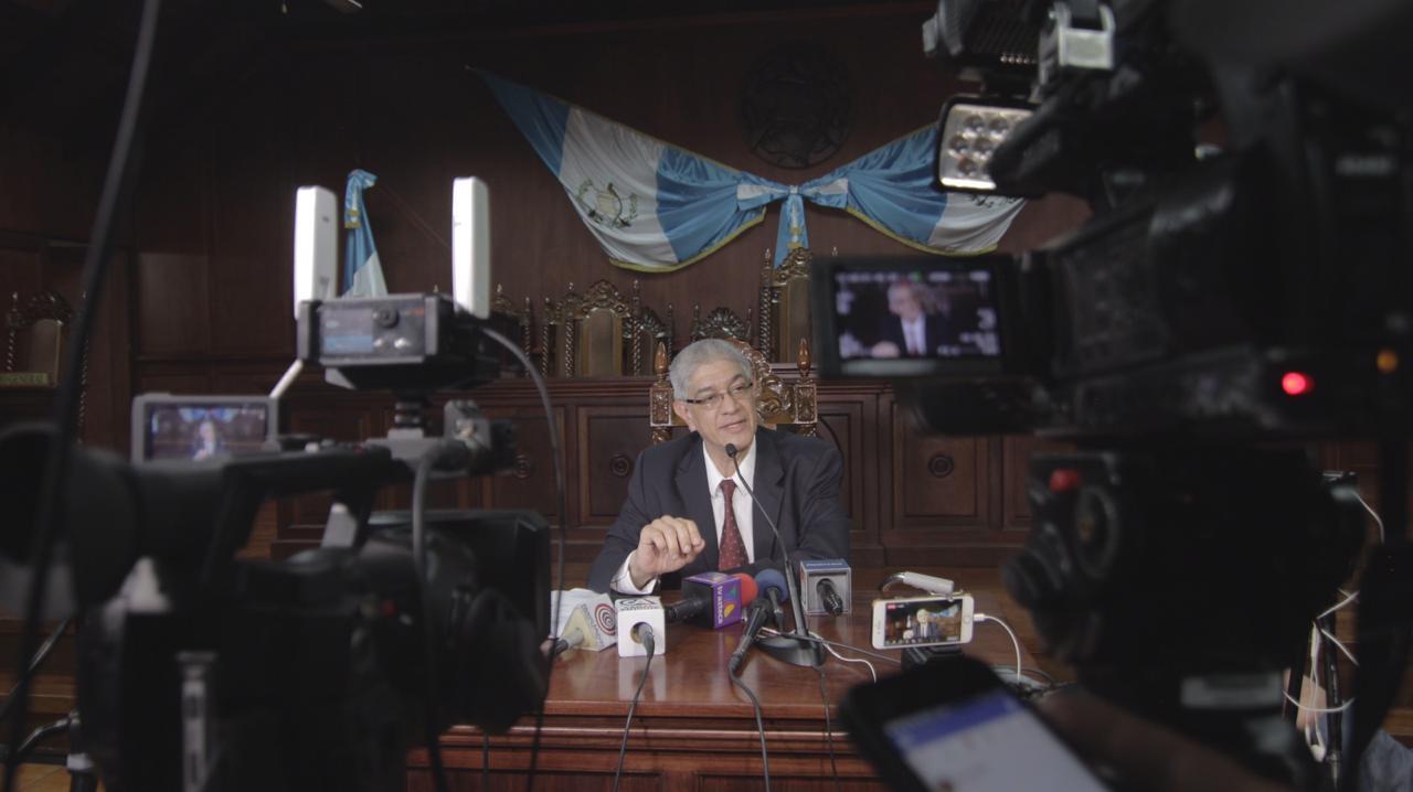 Martín Guzmán, secretario de la CC. Foto: Gabriela Ríos