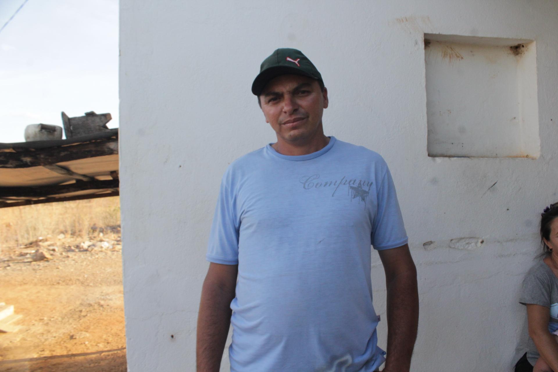 Francinaldo José dos Santos es sercretario de la Asociación del Sítio Tabuleiro Redondo.Foto: Hevilla Wanderley/Agência Pública