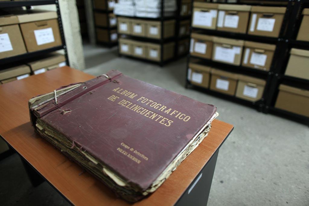 Archivo Histórico de la Policía Nacional (AHPN). Foto: Carlos Sebastián