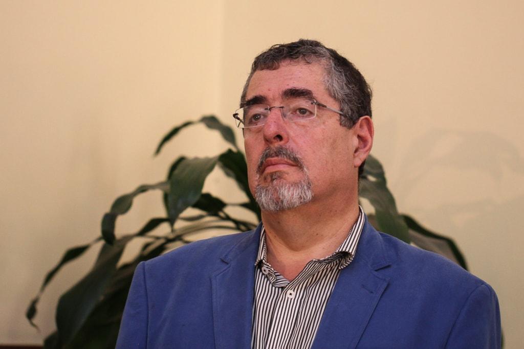 César Bernardo Arévalo.