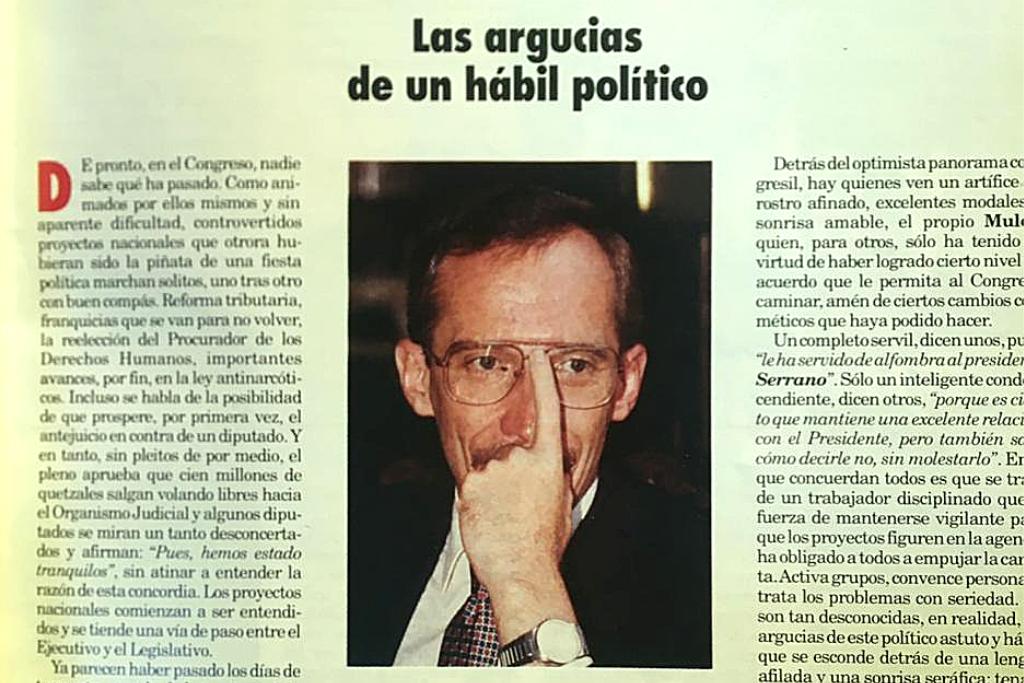La revista Crónica hace una descripción del perfil político de Mulet.