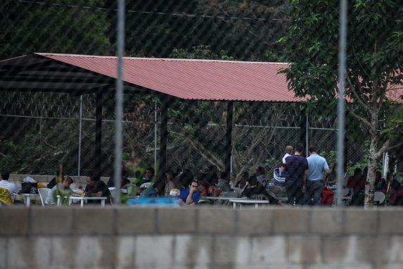 Inmates in Mariscal Zavala