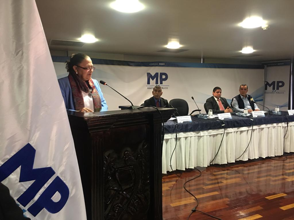 Fiscal Consuelo Porras y los fiscales de Delitos Electorales y contra la Corrupción. Foto: Carlos Sebastián