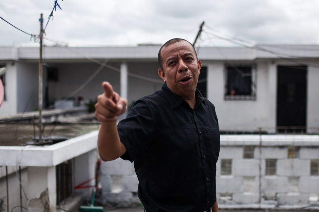 Aldo Dávila recuerda el bullying que sufrió en su etapa de estudiante. Foto: Carlos Sebastián