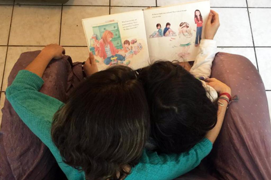 Ana y su hija Rosa.