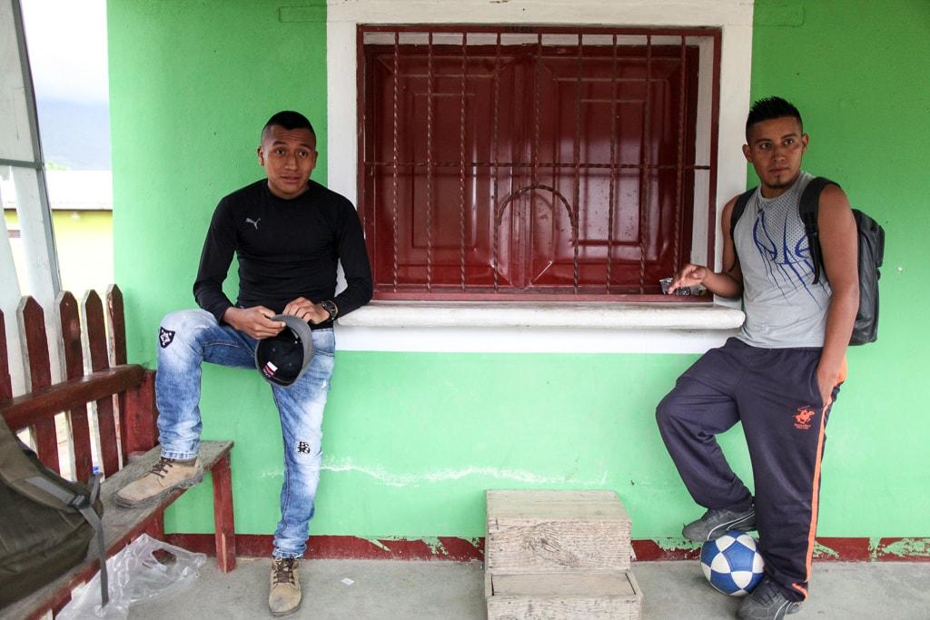 Mario y Pedro. Foto: Carlos Sebastián