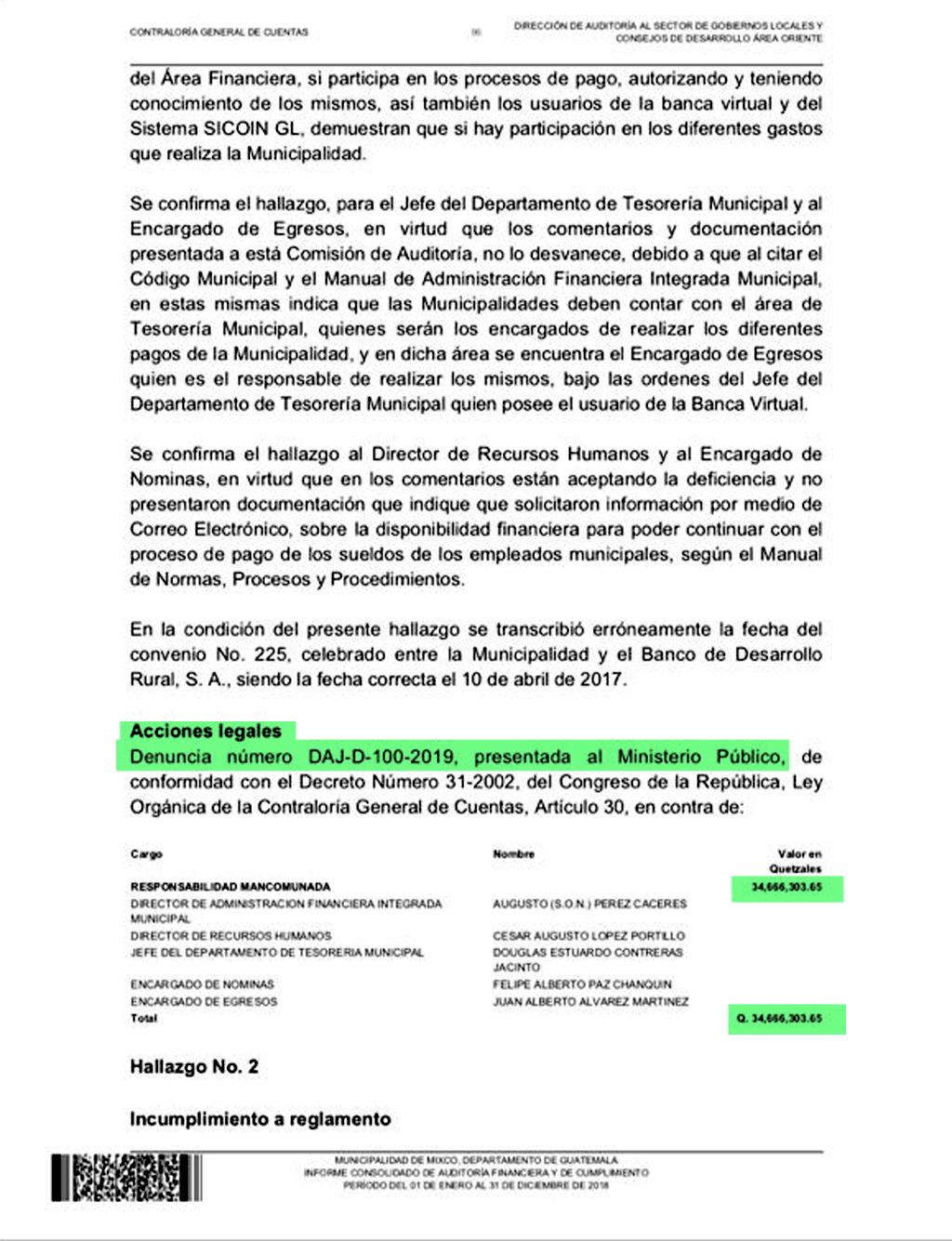 Resolución de la Contraloría.
