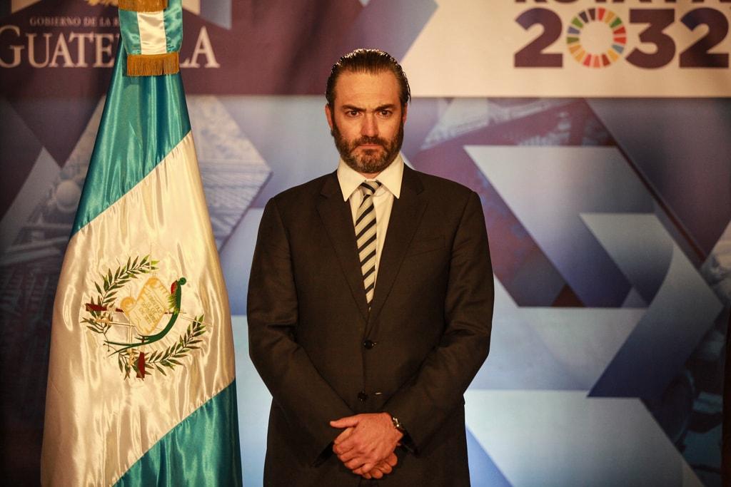 Acisclo Valladares Urruela, ministro de Economía.